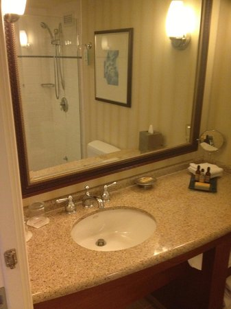 Newport Beach Marriott Hotel & Spa: bathroom