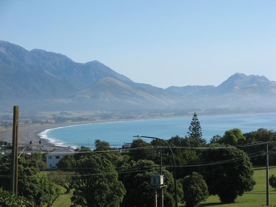 Nikau Lodge:                   Some view!