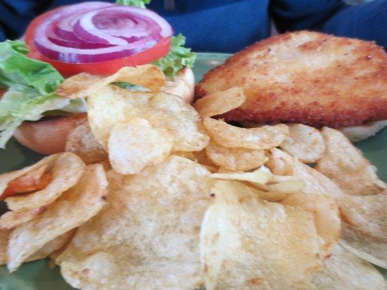 The Grateful Bread Bakery & Restaurant : Dory Caught Cod