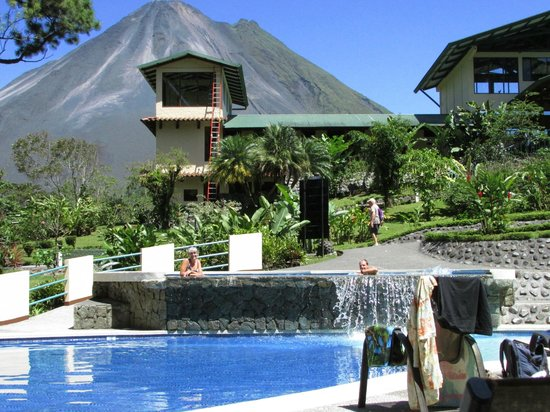Arenal Observatory Lodge & Spa: what a setting to swim in!