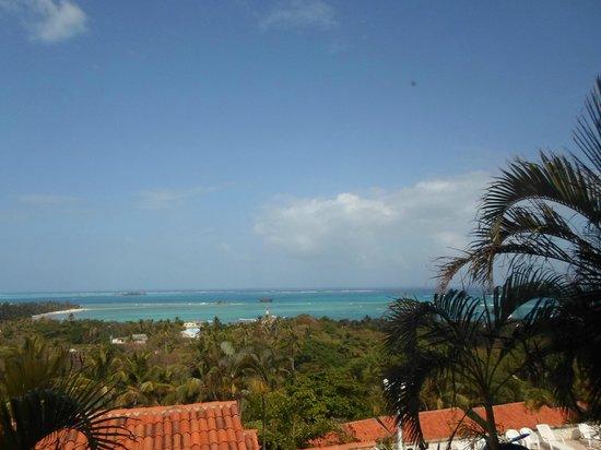 Sol Caribe Campo:                   Vista al mar desde la habitación