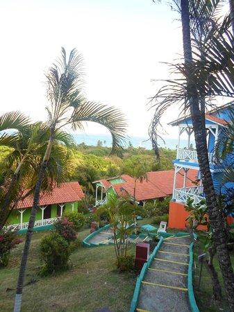 Sol Caribe Campo:                   Vista desde las dependencias