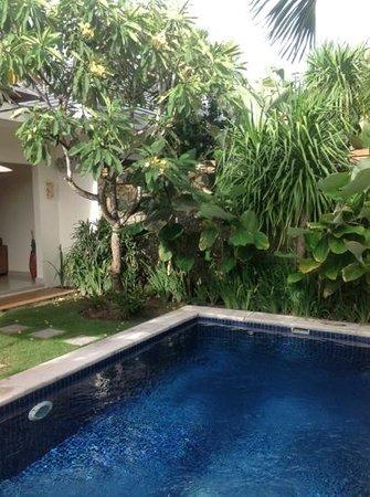 Bali Yubi Villa: Villa 7 - nager sous les frangipaniers