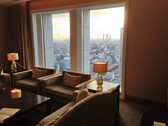 The St. Regis Osaka:                   stunning views