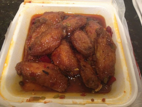 China Palace Restaurant:                   Spicy Chicken Wings