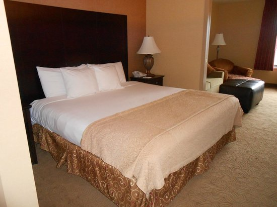 Oxford Suites Portland - Jantzen Beach:                   king-sized bed