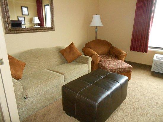 Oxford Suites Portland - Jantzen Beach:                   sofa-bed