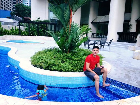 Small swimming pool picture of hotel novotel kuala - Best hotel swimming pool in kuala lumpur ...