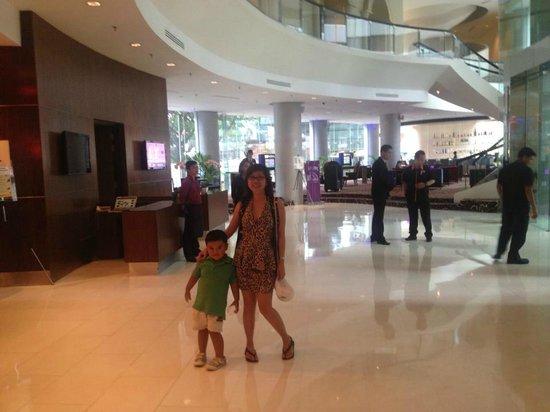 Hotel Novotel Kuala Lumpur City Centre: Good location