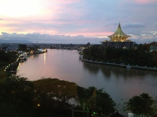 Hilton Kuching: the Sarawak river