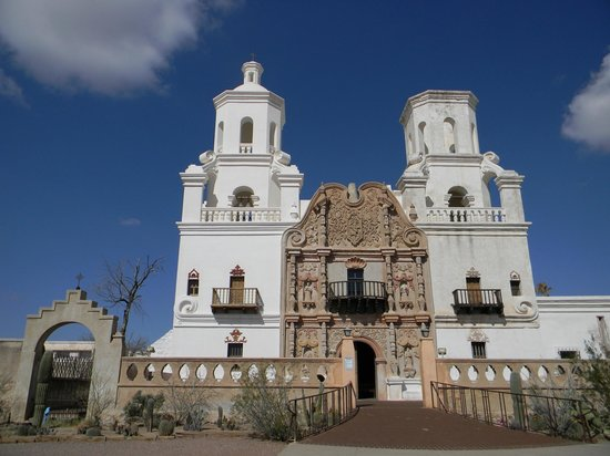 Mission - Picture of Mission San Xavier del Bac, Tucson ...