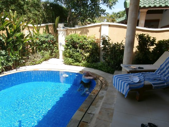 Emerald Villas:                   Swimming pool is perfect