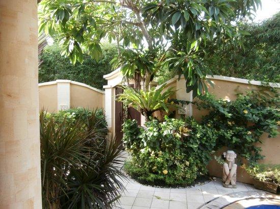 Emerald Villas:                   Beautiful private garden