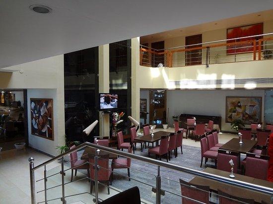 The White Hotels: Restaurant Area