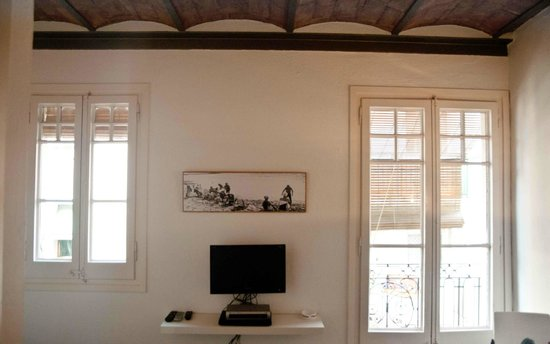Barceloneta Suites: Original Catalan Ceilings