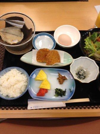 Onomichi Kokusai Hotel:                   朝食