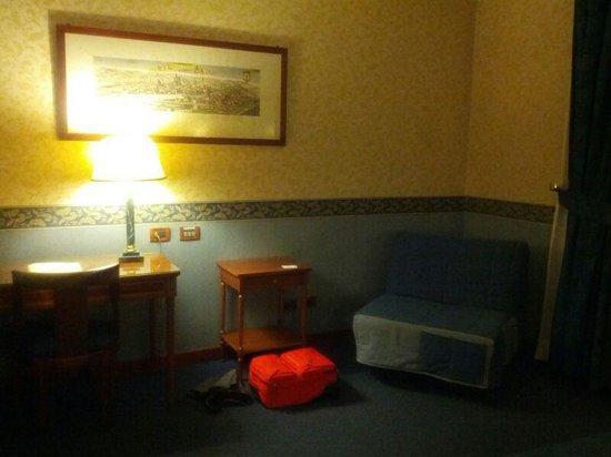 Strozzi Palace Hotel: la camera