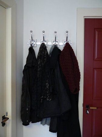 B&B Jordaan:                                                       good place to hang coats in room