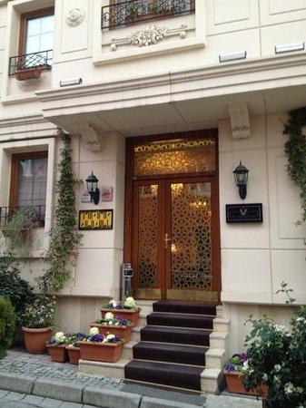 Sultans Royal Hotel:                                     Entrada