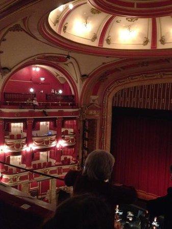 Bristol Hippodrome:                                     inside