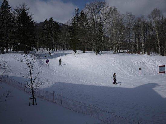 Club Med Sahoro Hokkaido:                   Vue depuis ma chambre