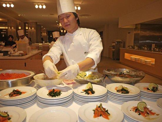 Club Med Sahoro Hokkaido:                   Assiette japonaise