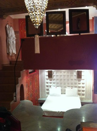 Riad Moullaoud :                   Chambre Rubis