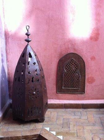 Riad Moullaoud :                   Déco du Riad