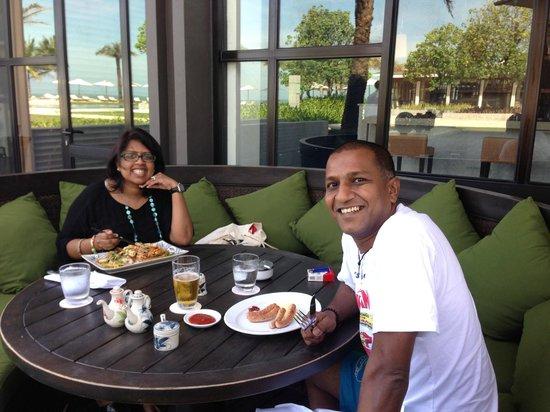 Hyatt Regency Danang Resort & Spa:                                     Lunch at Greenhouse