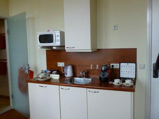 Hotel ter Duyn: Die kleine Kochnische