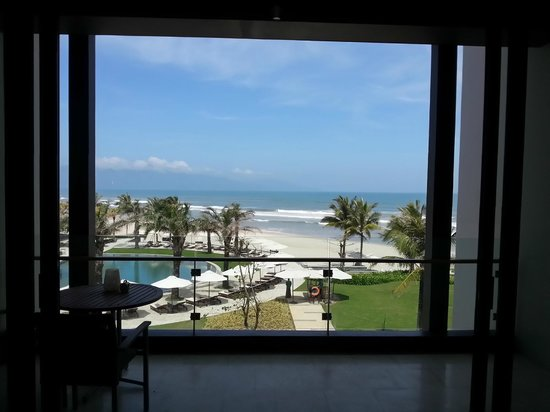Hyatt Regency Danang Resort & Spa:                                     The beach from our suite.