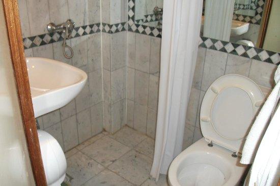 Rembrandtplein Hotel: timy bathroom