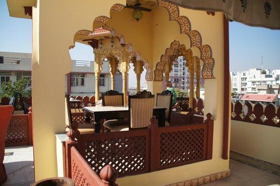 Umaid Bhawan Heritage House Hotel:                   Topfloor restaurant