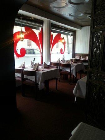 Isha Restaurant:                   main window / dining