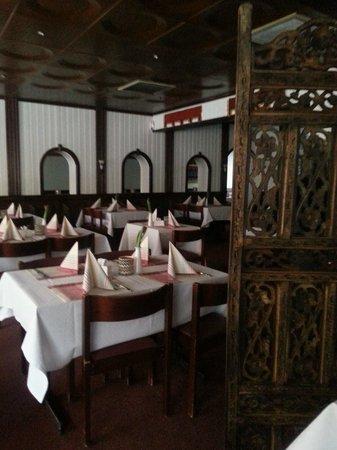 Isha Restaurant:                   dining area