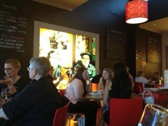 Madame Wu's Noodle Bar:                   Decor details