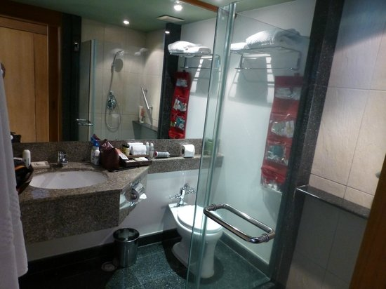 Amari Phuket:                   Nice bathroom, no leg room in front of toilet