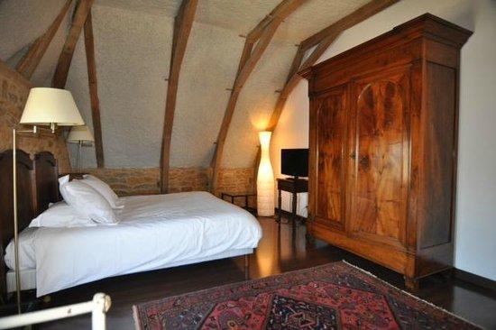 Chateau de Labro:                   Notre chambre