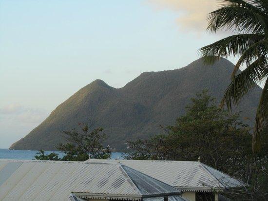 Diamant Beach: vue de notre terrasse pas terrible il y a beaucoup mieux