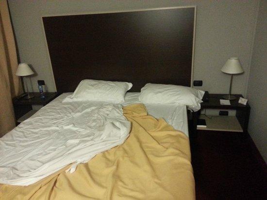 Art Hotel Olympic: Letto (Molto comodo)