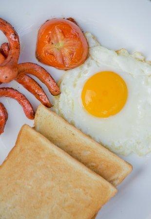Friendly Villa : Breakfast
