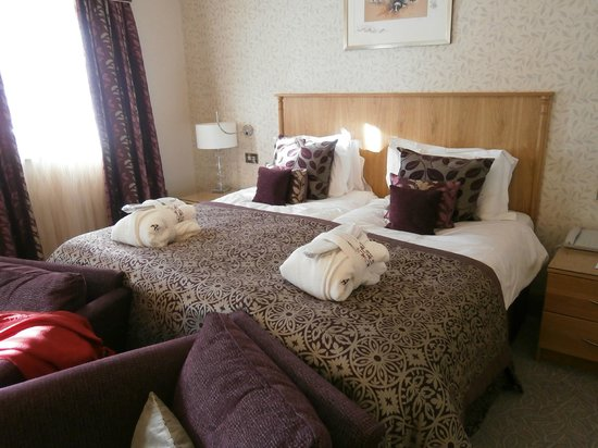 Armathwaite Hall Hotel & Spa:                   Twin bedroom