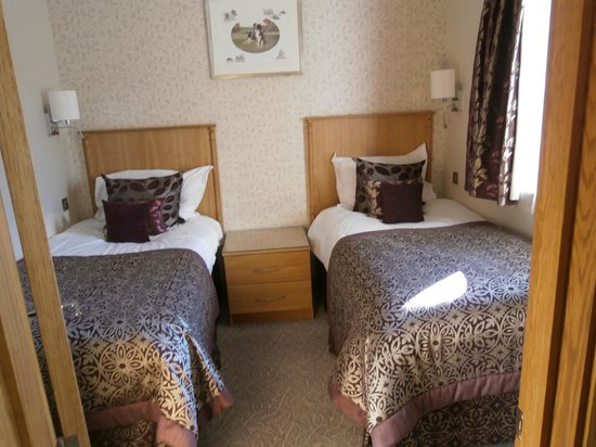 Armathwaite Hall Hotel & Spa:                   Bedroom twin (off main bedroom)