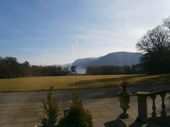 Armathwaite Hall Hotel & Spa:                   View from conservatory