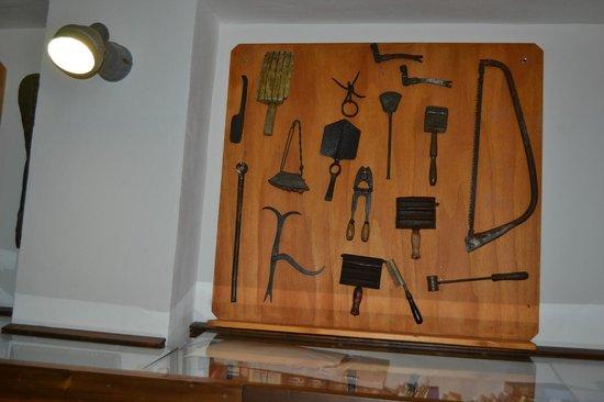 Trabia, Olaszország: parete del museo