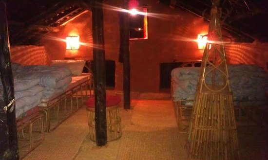 Samari, Nepal: Top floor room