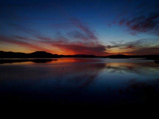 Lodge on Loch Lomond:                   6am