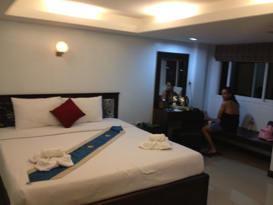 Chaweng Grand View Resort:                                     Chambre