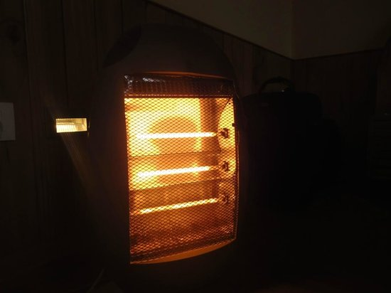 The Holiday Resorts Cottages & Spa:                   Room Heater