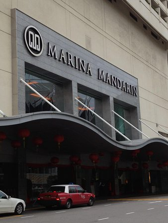 Marina Mandarin Singapore: hotel facade